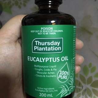 THURSDAY PLANTATION EUCALYPTUS OIL (200ml)