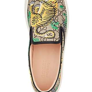 Gucci Slip on Bengal Tiger