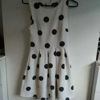 Valley Girl Polk A Dot Dress