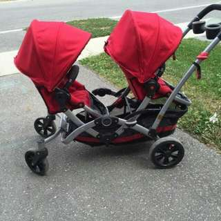 Contours Option Tandem Double Stroller
