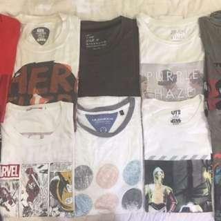 Pre-loved Shirts (Uniqlo, F21, Redherring, F&H etc. )