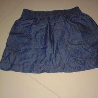 Maldita Maong Skirt