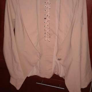 Your Rule Your Style Pink Blazer