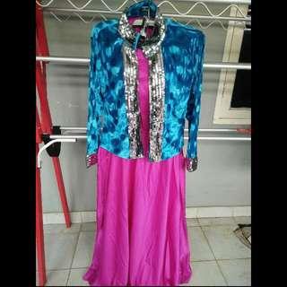 Setelan Dress Import