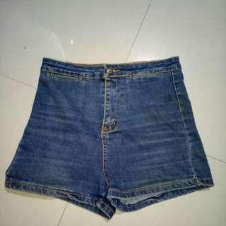 Hi Waist Shorts