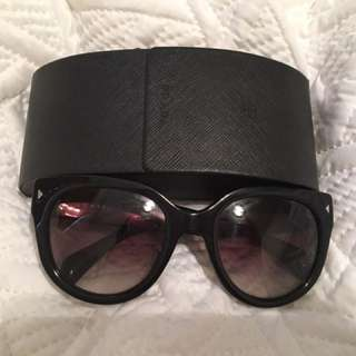 Authentic Prada Cat Eye Sunglasses