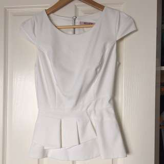 Review Peplum Top