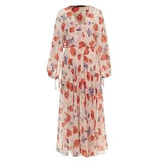 Sportsgirl Sheer Floral Dress