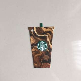 Starbucks Cup Card