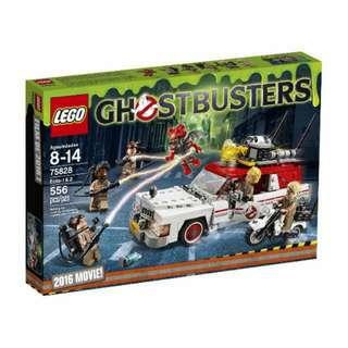 QQBricks LEGO 75828 Ghostbusters Ecto 1 & 2