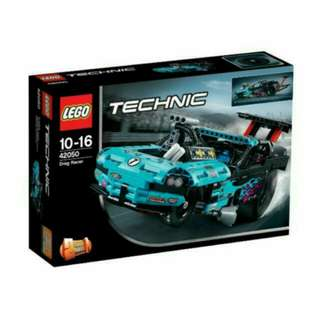 QQBricks LEGO 42050 Technic Drag Racer