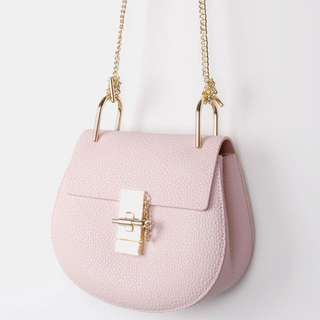 BNIP Belmore Genuine Leather Bag Also CHLOE Style Drew Bag (RRP$300)