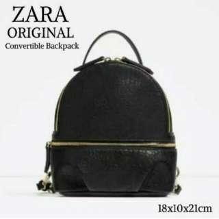 Zara Convertible Backpack FREE ONGKIR