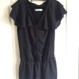 Black playsuit Size Small