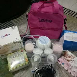 Preloved Breast Pump Set ( Spectra M double )