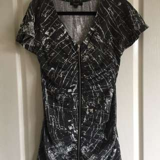 Zip Up Dress Size Small