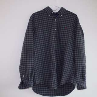 Ralph Lauren Plaid Cotton Casual Shirt