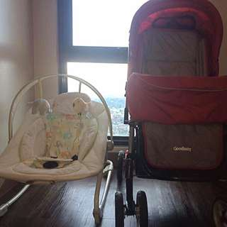 Stroller , Baby Rocking Chair