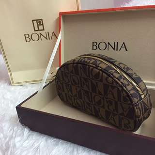 (NEW) BONIA Wristlet/Makeup Bag