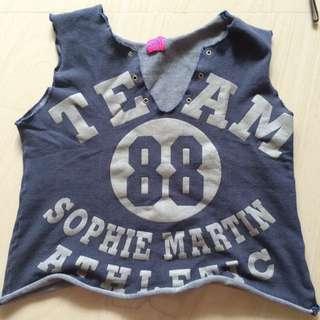 Crop Tee Sophie Martin