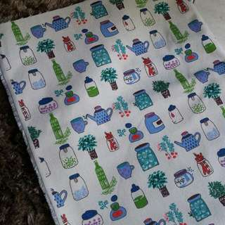🆕Cozy Kitchen Linen-cotton Blend Fabric