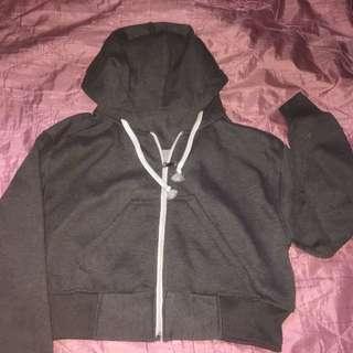 Jacket Crop Grey