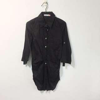 版型好黑襯衫