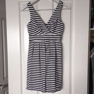 Portmans Striped Mini Dress