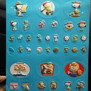 Sticker Snoopy Peanuts