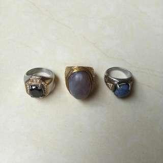 Jual Cepat Batu Akik (Blue Sapphire, Lavender, Black Sapphire)