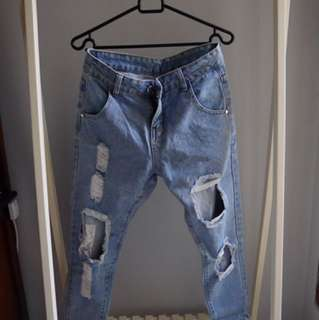 Local Designer - Cropped Jeans