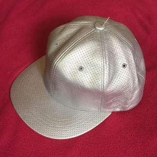 Silver Men's Cap