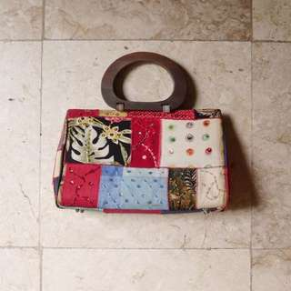 Patched Bag