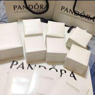 🎀pandora 飾品白盒 紙袋