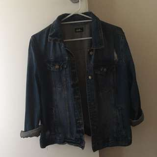 Dotti Dark Denim Jacket