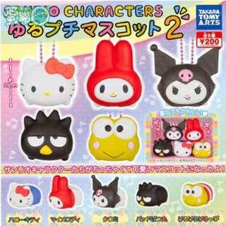 三麗鷗角色疊疊樂P2-ハローキティ(Hello Kitty)