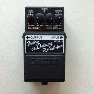 Fender Deluxe Reverb Pedal