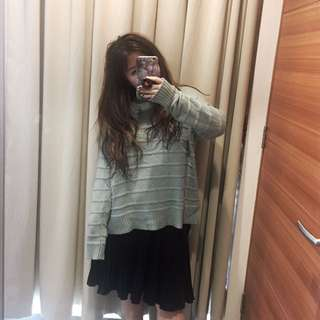 H&M Oversized Sweater In Tosca