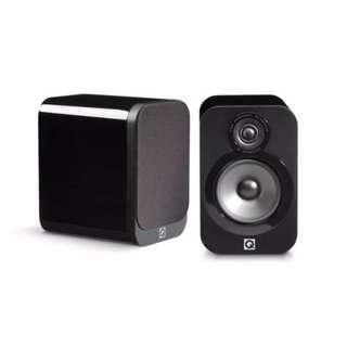 Q Acoustics 3020 Gloss Black
