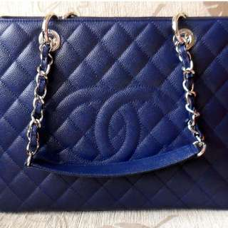chanel gst in blue