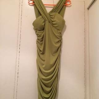 Party/Cocktail Dress in Green