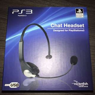 PS3 Chat Headset from Rocketfish