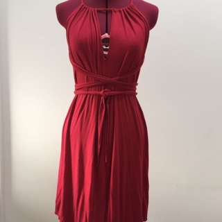 Guess Converable Slinky Dress