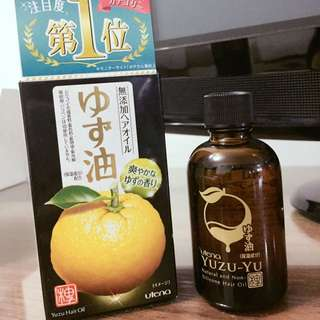 UTENA YUZU Hair Oil 60ml