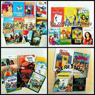 Sale Buku Buku Anak Preloved