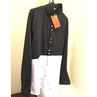 In Style Shirt - Black and White