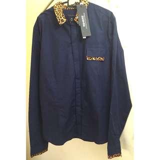 In Style Shirt - Leopard Black