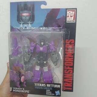 Transformers Titans Return Mindwipe + Crashbash