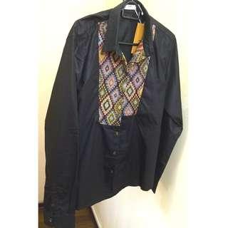 In Style Shirt - Quadrangle Black
