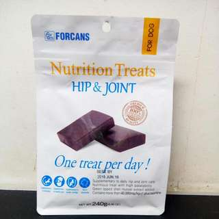 Forcans Nutrition Treats Hip&Joint 240g